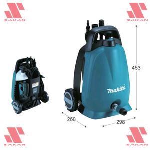 マキタ(makita) MHW0700 電動式高圧洗浄機 吐出圧7MPa 清水専用【後払い不可】