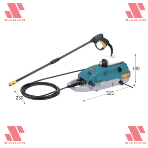 マキタ(makita) MHW710 電動式高圧洗浄機 吐出圧7MPa 清水専用【後払い不可】