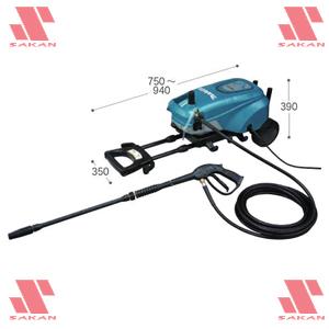 マキタ(makita) MHW720 電動式高圧洗浄機 吐出圧7MPa 清水専用【後払い不可】