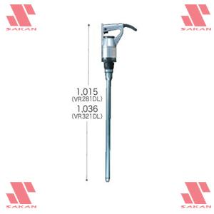 マキタ(makita) VR321DL 電棒タイプコンクリートバイブレータ 振動部径:32mm【後払い不可】