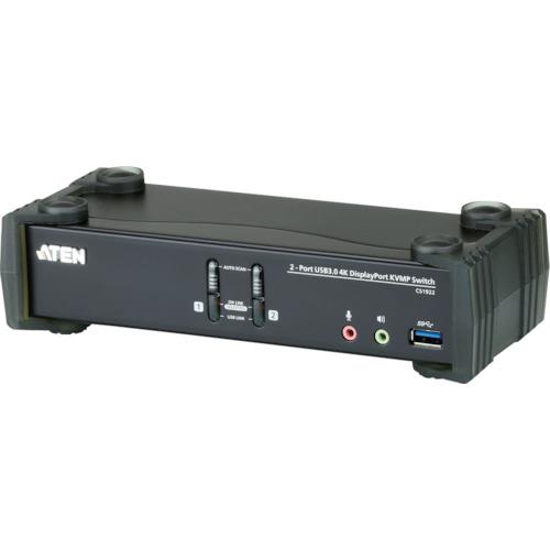ATENジャパン通信機器 ATEN KVMP TM上 スイッチ 2ポート USB DisplayPort DCI 1152962 送料別途見積り 取寄 高価値 〔品番:CS1922〕 3.0ハブ搭載 4K対応 法人 事業所限定 与え