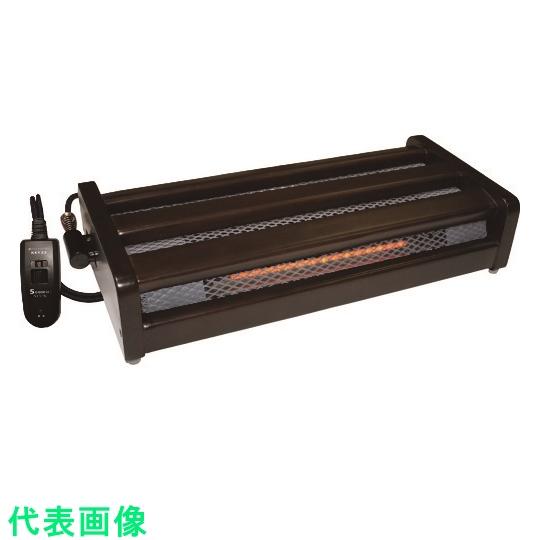 メトロ電気工業 電気ファンヒーター 未使用 METRO 別倉庫からの配送 木枠フットヒーター 〔品番:MFH-181ET〕 1163181