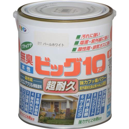 【使い勝手の良い】 アサヒペン 水性ビッグ10多用途 1.6L パールホワイト  《6缶入》〔品番:432230〕[1250389×6]「送料別途見積り,法人・事業所限定,取寄」, PRIMACLASSE JAPAN:63122bea --- tedlance.com