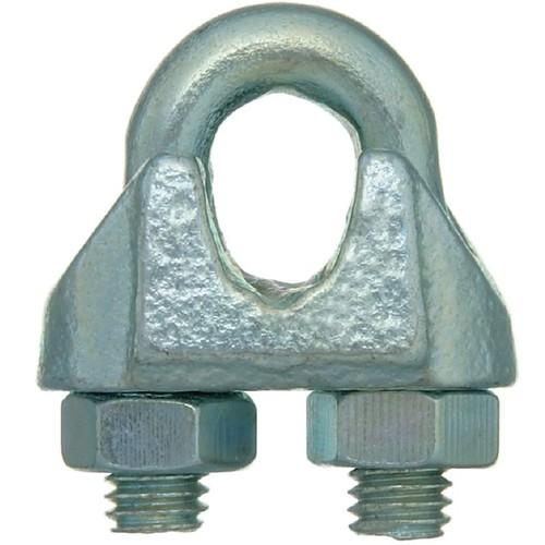 お値打ち価格で ニッサチェイン ワイヤロープ 鉄ucワイヤークリップ 3.0mm OUTLET SALE 《5個入》〔品番:B-1302〕 送料別途見積り 法人 取寄 1266111×5 事業所限定