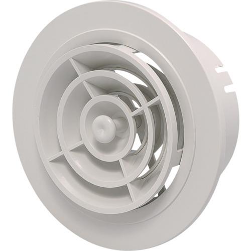 因幡電機産業 点検口 給排気口 メーカー再生品 JAPPY 換気用樹脂製レジスター 150Φ 丸型 法人 取寄 事業所限定 〔品番:JMP150WG〕 送料別途見積り 1293666 気質アップ