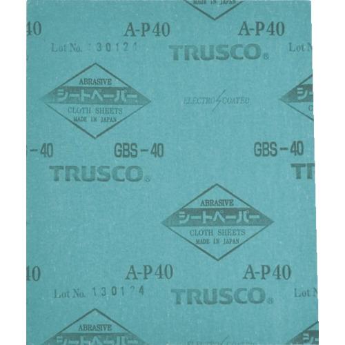 【返品?交換対象商品】 TRUSCO TRUSCO シートペーパー #100 シートペーパー #100 《50枚入》〔品番:GBS-100〕[1321200×50], mischief:a95d243f --- cleventis.eu