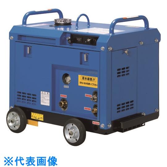 ツルミ 高圧洗浄機 エンジンシリーズ(防音タイプ) 〔品番:HPJ-8ESM3〕[1492853]「法人・事業所限定,直送元」