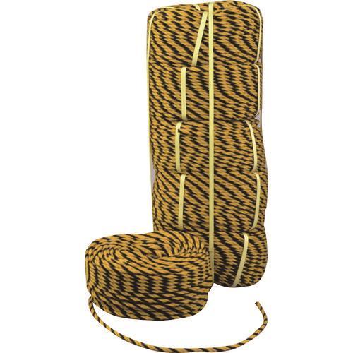 熱田資材 標識ロープ  WING ACE トラロープ 12X50m 《8巻入》〔品番:TG-1205〕[1523355×8]「送料別途見積り,法人・事業所限定,直送」
