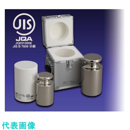 新光電子 はかり 期間限定で特別価格 期間限定 ViBRA JISマーク�OIML型円筒分銅 非磁性ステンレス 1650 〔品番:F2CSO-5GJ〕 5G 1525054 F2級