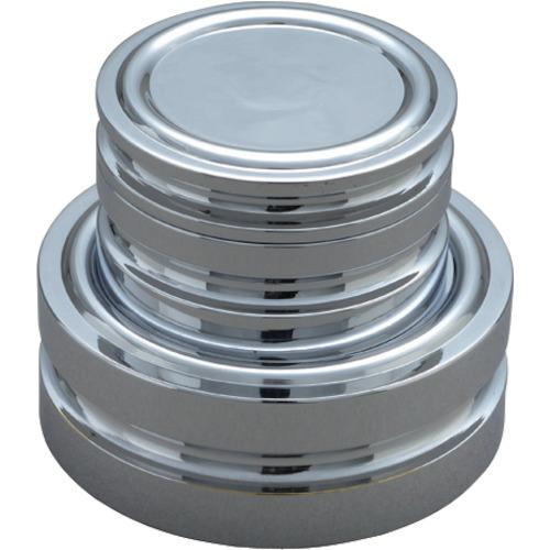 新光電子 はかり お買い得品 ViBRA 円盤分銅 黄銅クロムメッキ 1650 1525128 1KG 〔品番:M2DB-1K〕 M2級 受注生産品