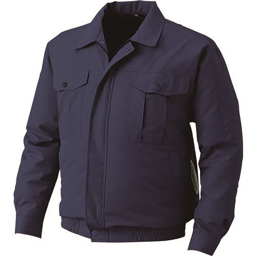空調服 冷却衣服 屋外作業用ウェアのみ ダークブルー 日本未発売 1595827 4L 超安い 〔品番:KU90720-C14-S6〕