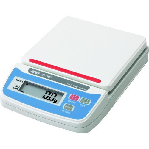 A&D デジタルはかり HT500 JCSS校正付 〔品番:HT500-JA-00J00〕[1789395]1100
