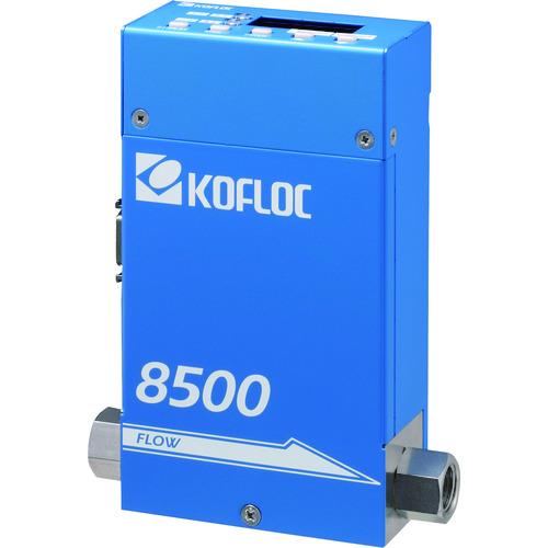 コフロック 表示器付マスフローコントローラ/メータ MODEL 8500 SERIES 〔品番:8500MC-O-RC1/4-N2-5SLM-2-2-0C〕[2019443]「法人・事業所限定,直送元」