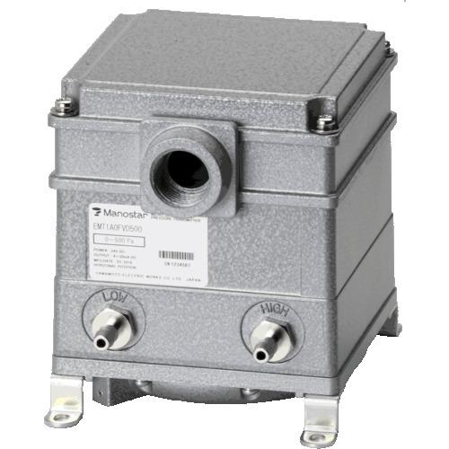 マノスター 伝送器 EMT1A 4-20mA 4線式 75Pa 金属管用 〔品番:EMT1A1FMD75〕[2233555]1650