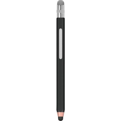 オウルテック 周辺機器 握りやすいエンピツ型タッチペン ショートタイプ 〔品番:OWL-TPSE09-BK〕 2723335 直送 法人 送料別途見積り 正規品送料無料 結婚祝い 事業所限定