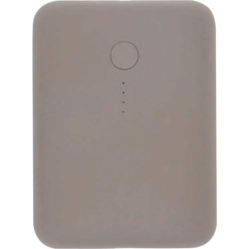 オウルテック 周辺機器  MOTTERU 小型軽量モバイルバッテリー 10000mAh PD18W ラテ 〔品番:MOT-MB10001-GY〕[3155795]「送料別途見積り,法人・事業所限定,直送」