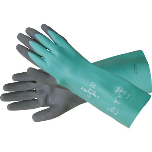 重松製作所 耐薬品・耐溶剤手袋  シゲマツ 耐切創機能付き化学防護手袋 58ー735(S)/6双 【17060】 〔品番:17060〕[3157395]「送料別途見積り,法人・事業所限定,取寄」