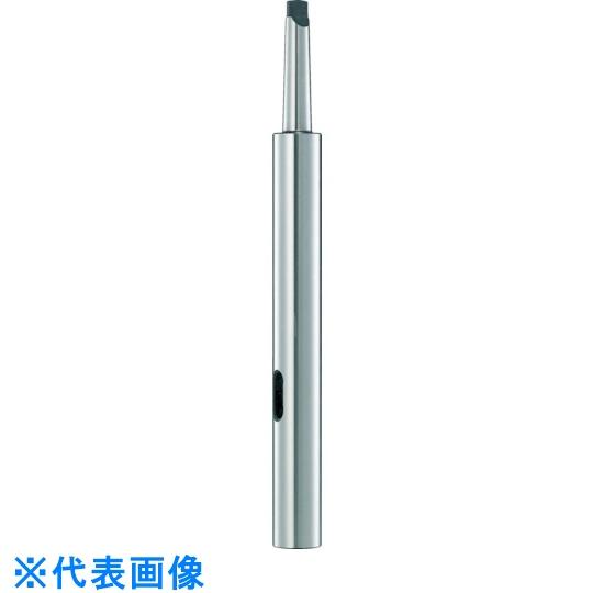 トラスコ中山 ドリルソケット TRUSCO 品質保証 ドリルソケット焼入研磨品 記念日 ロング 首下150mm MT3XMT3 〔品番:TDCL-33-150〕 4026365