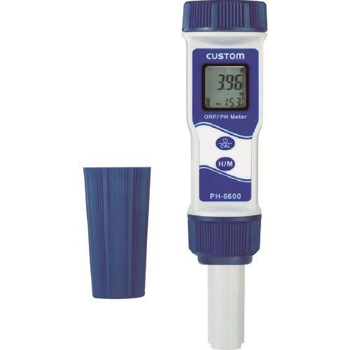 カスタム 水質 水分測定器 防水ORP デポー 〔品番:PH-6600〕 至上 PH計 4212941