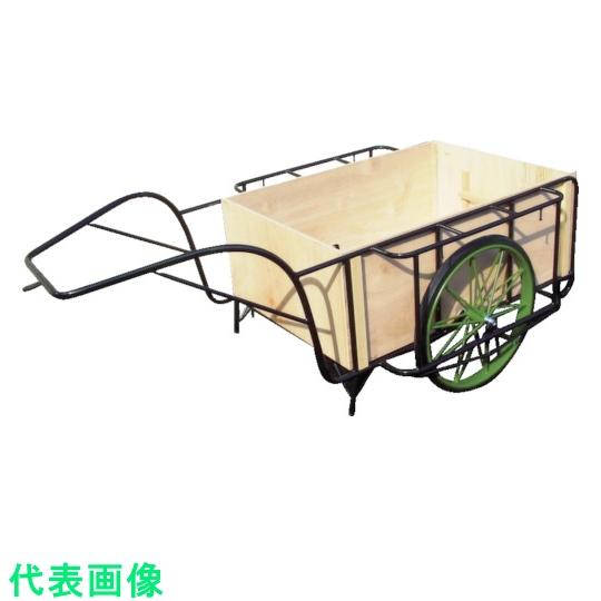 ムラマツ車輌 市販 リヤカー ムラマツ エアー車輪木箱付き 〔品番:MR-4K〕 4660668 事業所限定 全品最安値に挑戦 大型 法人 送料別途見積り
