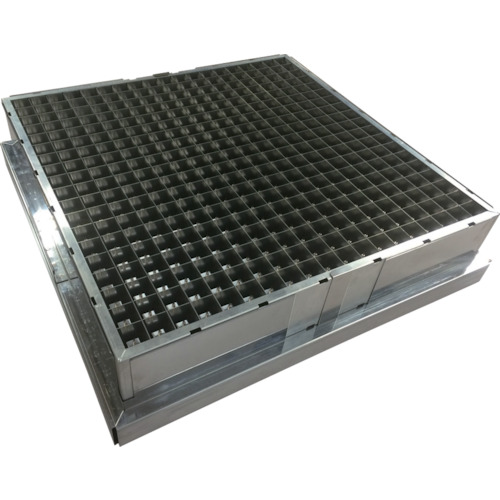 オーデン 電気集塵ユニット470mm×470mm HG-50CU 〔品番:HG-50CU〕[7593392]1100