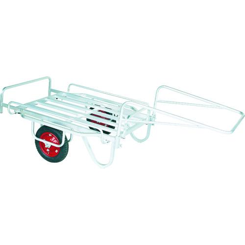 無料サンプルOK ハラックス リヤカー HARAX 輪太郎 13×3Tエアー入タイヤ 高級品 〔品番:BS-1108〕 7631332 1320 積載面1100~1300×800~1120