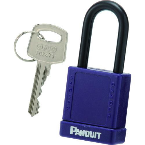 パンドウイットコーポレーション 鍵 パンドウイット ロックアウト用非電導性パドロック 安心の実績 高価 買取 強化中 8146554 〔品番:PSL-8PU〕 紫 海外並行輸入正規品