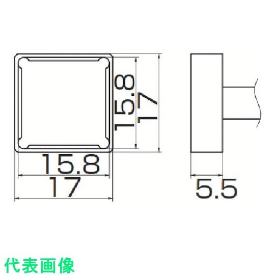 白光 電気はんだこて  白光 こて先 クワッド 15.8mmX15.8mm 〔品番:T12-1208〕[8498193]「送料別途見積り,法人・事業所限定,取寄」