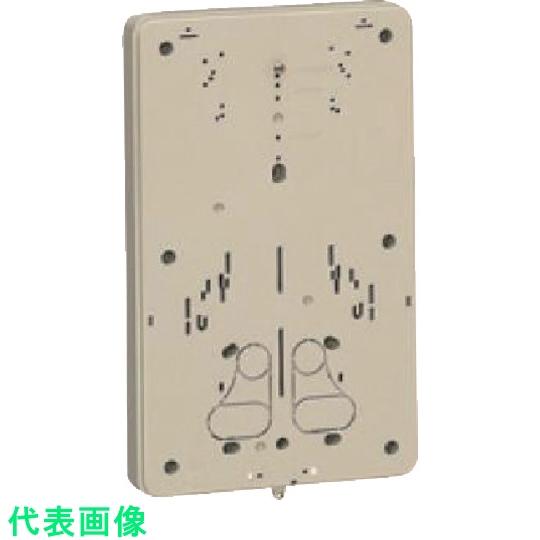 未来工業 日本製 配電盤 筐体 未来 開催中 積算電力計 計器箱取付板 ベージュ 取寄 事業所限定 適用:1個用 法人 8502789 〔品番:BP-3J〕 送料別途見積り