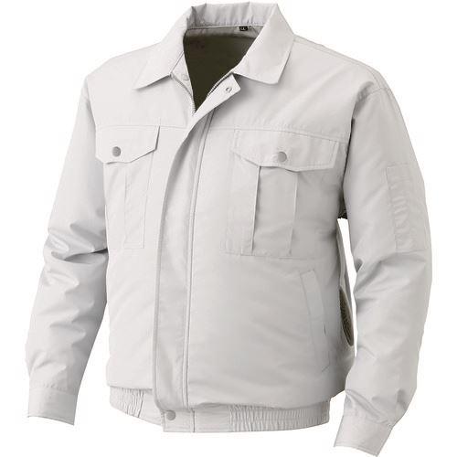 空調服 冷却衣服 屋外作業用空調服 ウェアのみ 3L 8567787 〔品番:KU90720-C06-S5〕 情熱セール シルバー 1着でも送料無料