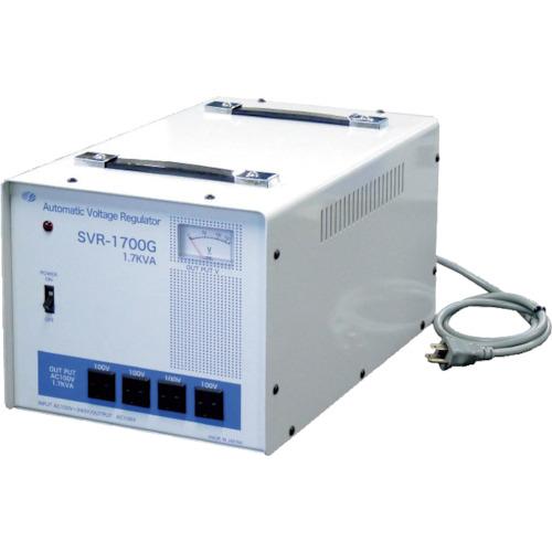 スワロー電機 変圧器 スワロー 日本産 交流定電圧電源装置 サイリスタ式 〔品番:SVR-1700G〕 送料別途見積り 事業所限定 法人 今だけスーパーセール限定 8688481 大型