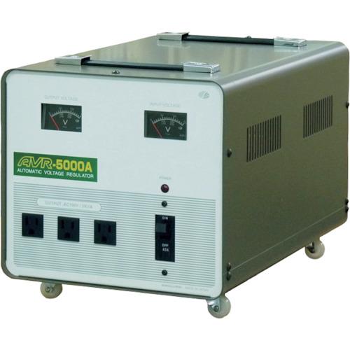 スワロー 交流定電圧電源装置 摺動式 〔品番:AVR-5000A〕[8688816]「送料別途見積り,法人・事業所限定」【大型】
