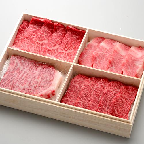 米沢牛 卓抜 御歳暮 送料無料 お肉 お気にいる 高級 ギフト 米沢牛懐石 贈答用 買い 贅沢4種盛り プレゼントまとめ