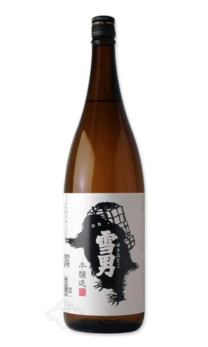 軟水仕込を生かした 淡麗辛口のお酒 鶴齢 大規模セール 雪男 本醸造 最安値 ゆきおとこ 1800ml 日本酒 青木酒造