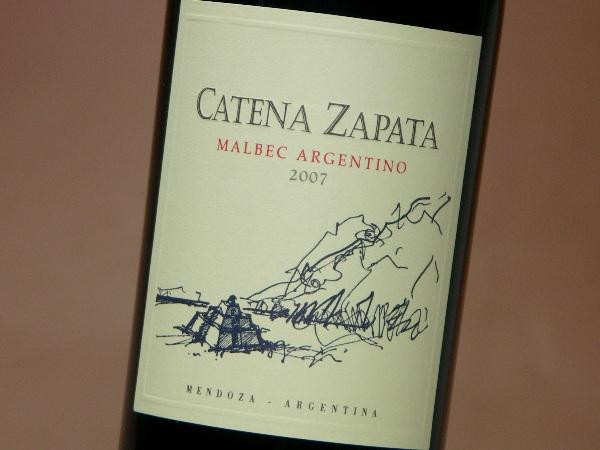 ボデガス・カテナ・サパータ マルベック アルヘンティーノ 2013 750ml (ワイン) 【ラッキーシール対応】