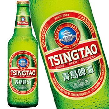 tsingtao beer チンタオ 青島 ビール 瓶 330ml