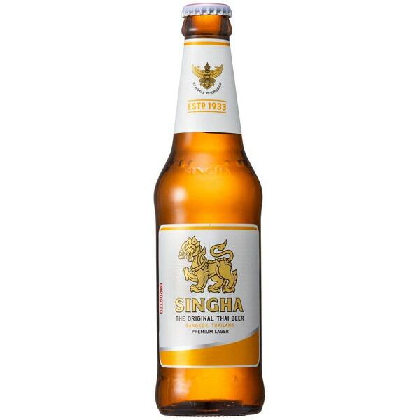 singha premium import シンハービール 瓶 330ml