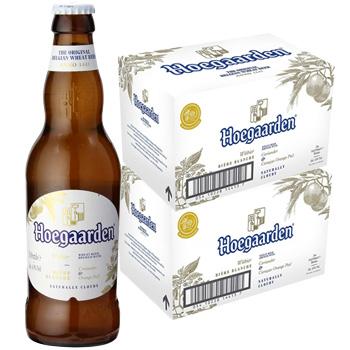 ヒューガルデンホワイトビール瓶 330ml (2ケース48本入り) 【正規品】 【送料無料】(北海道・沖縄は送料1000円、クール便は+700円)【ラッキーシール対応】