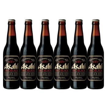 瓶ビール 国産ビール アサヒ 6本 ビールセット Asahi beer アサヒビール スーパードライ ブラック 小瓶 334ml ビール6本セット ビール