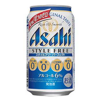 アサヒ スタイルフリー パーフェクト 350ml 缶 (1ケース24本入り) ノンアルコール 【ラッキーシール対応】