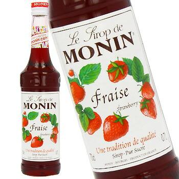単品 バラ売り バラ販売 !超美品再入荷品質至上! monin strawberry シロップ〔R1-16〕 700ml ストロベリー 2020 モナン syrup