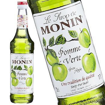 単品 バラ売り 人気急上昇 バラ販売 monin green apple スーパーセール期間限定 モナン グリーンアップル 700ml シロップ〔R1-04〕 syrup