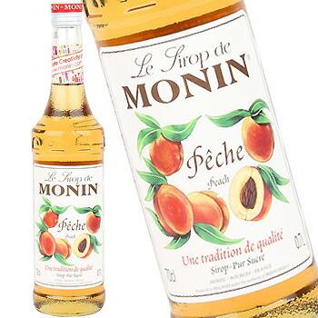 即納最大半額 単品 バラ売り バラ販売 monin peach ピーチ シロップ〔R1-24〕 公式サイト モナン 700ml syrup