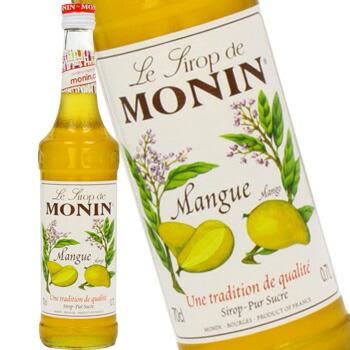◆在庫限り◆ 単品 バラ売り バラ販売 monin mango syrup マンゴ 700ml 〔R1-31〕 18%OFF シロップ モナン