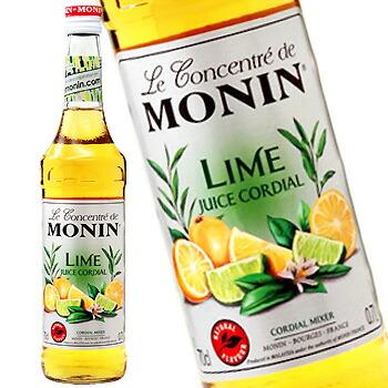 単品 バラ売り バラ販売 2020新作 monin cordial lime 出色 700ml コーディアル Fruit juice ライム果汁〔R1-35〕 モナン