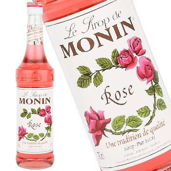 単品 バラ売り バラ販売 monin お値打ち価格で rose ローズ シロップ〔R1-23〕 syrup 700ml 至上 モナン
