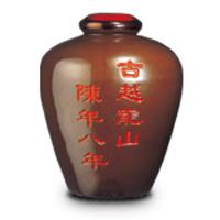 古越龍山 紹興花彫酒 陳年8年 茶甕 5L 中国酒