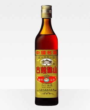磨き抜かれた伝統の技と5年の歳月が育てた紹興酒の傑作。 古越龍山 紹興酒 花彫 陳年5年 500ml 中国酒