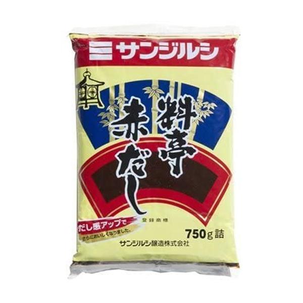 三重県 新品 送料無料 新作 人気 三重 みそ 調味料 食品 味噌汁 袋 味噌 サンジルシ 750g 料亭赤だし
