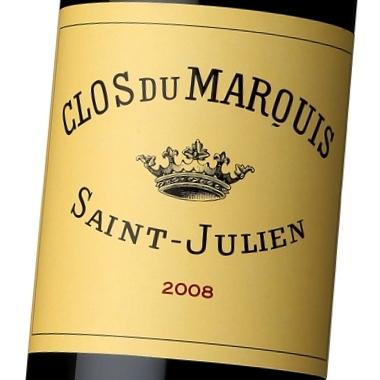 クロ・デュ・マルキ・ド・シャトー・レオヴィル・ラス・カーズ 2008 375ml (ハーフ) (ワイン) 【ラッキーシール対応】